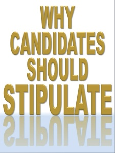 Stipulate-election
