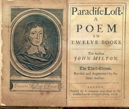 John Milton Paradise Lost Universe