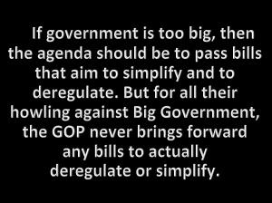 deregulate