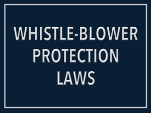 Whistle-blower-laws
