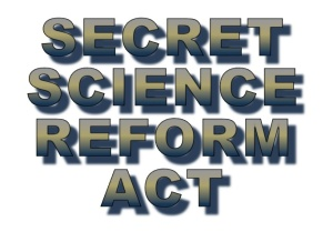 Secret-Science-Reform-Act