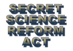 Secret-Science-Reform-Act