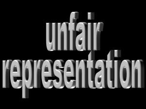 unfair-representation