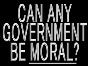 government-moral