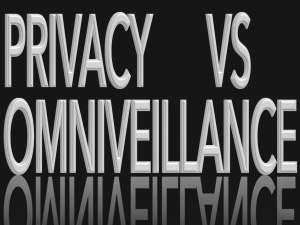 OMNIVEILLANCE-PRIVACY