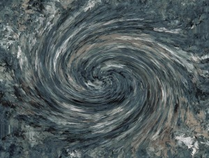 Black-hole-swirl